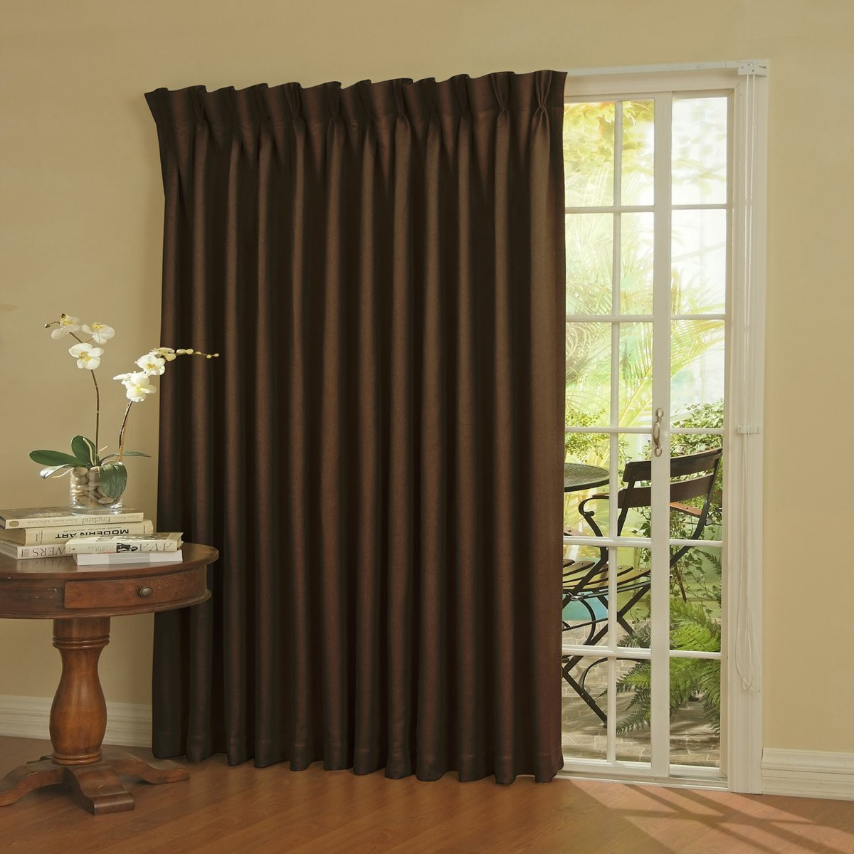 Best ideas about Patio Door Curtain Ideas . Save or Pin Curtain Ideas for Sliding Glass Door Now.