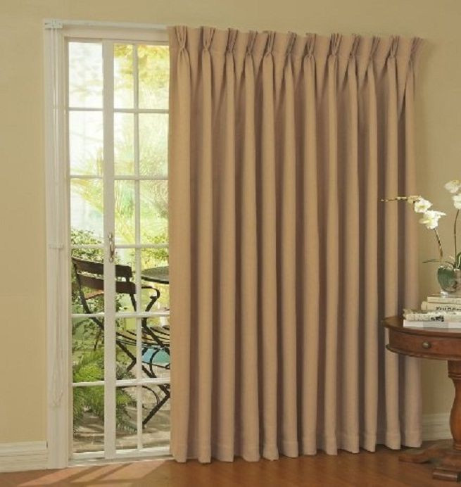 Best ideas about Patio Door Curtain Ideas . Save or Pin Decorative Curtains in Doorways by your own hands Ideas Now.