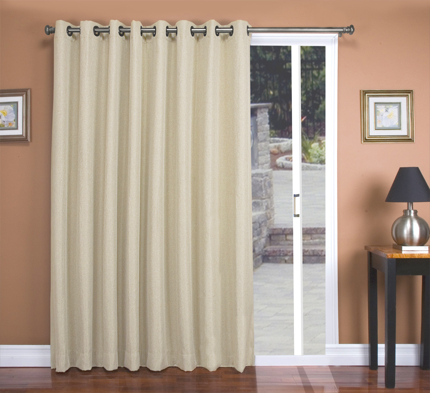 Best ideas about Patio Door Curtain Ideas . Save or Pin Patio Door Curtains TheCurtainShop Now.