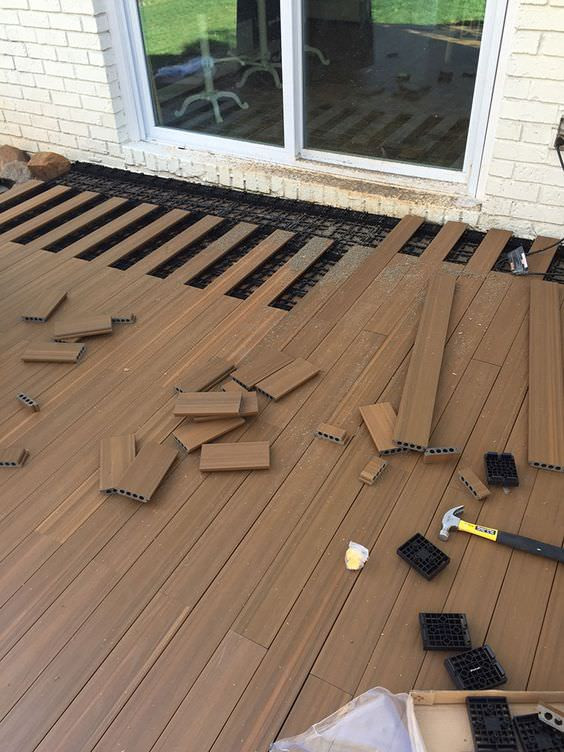 Best ideas about Patio Floor Ideas . Save or Pin 9 DIY Cool & Creative Patio Flooring Ideas Now.