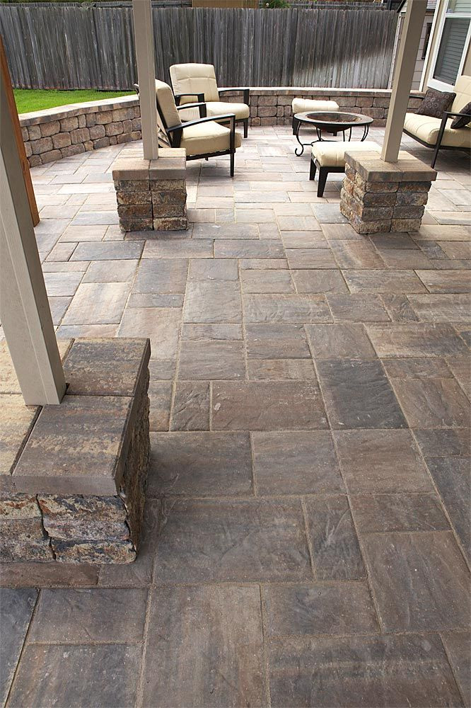 Best ideas about Patio Floor Ideas . Save or Pin tremron bluestone paver patio pool Now.