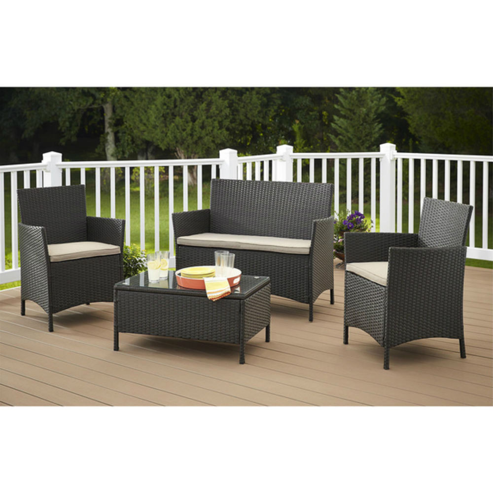 Best ideas about Patio Furniture Clearance Costco . Save or Pin Patio Furniture Sets Clearance Sale Costco Resin Wicker Now.