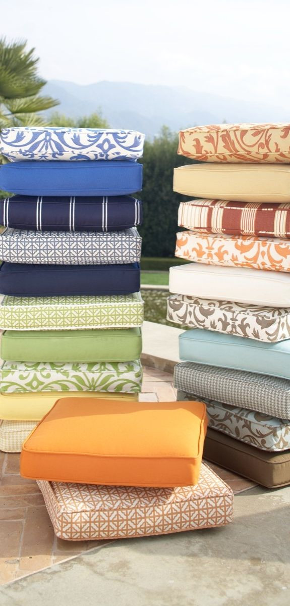 Best ideas about Patio Furniture Cushion Covers . Save or Pin 25 best ideas about Patio furniture cushions on Pinterest Now.