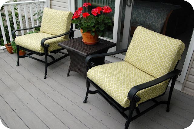 Best ideas about Patio Furniture Cushion Covers . Save or Pin Best 25 Recover patio cushions ideas on Pinterest Now.
