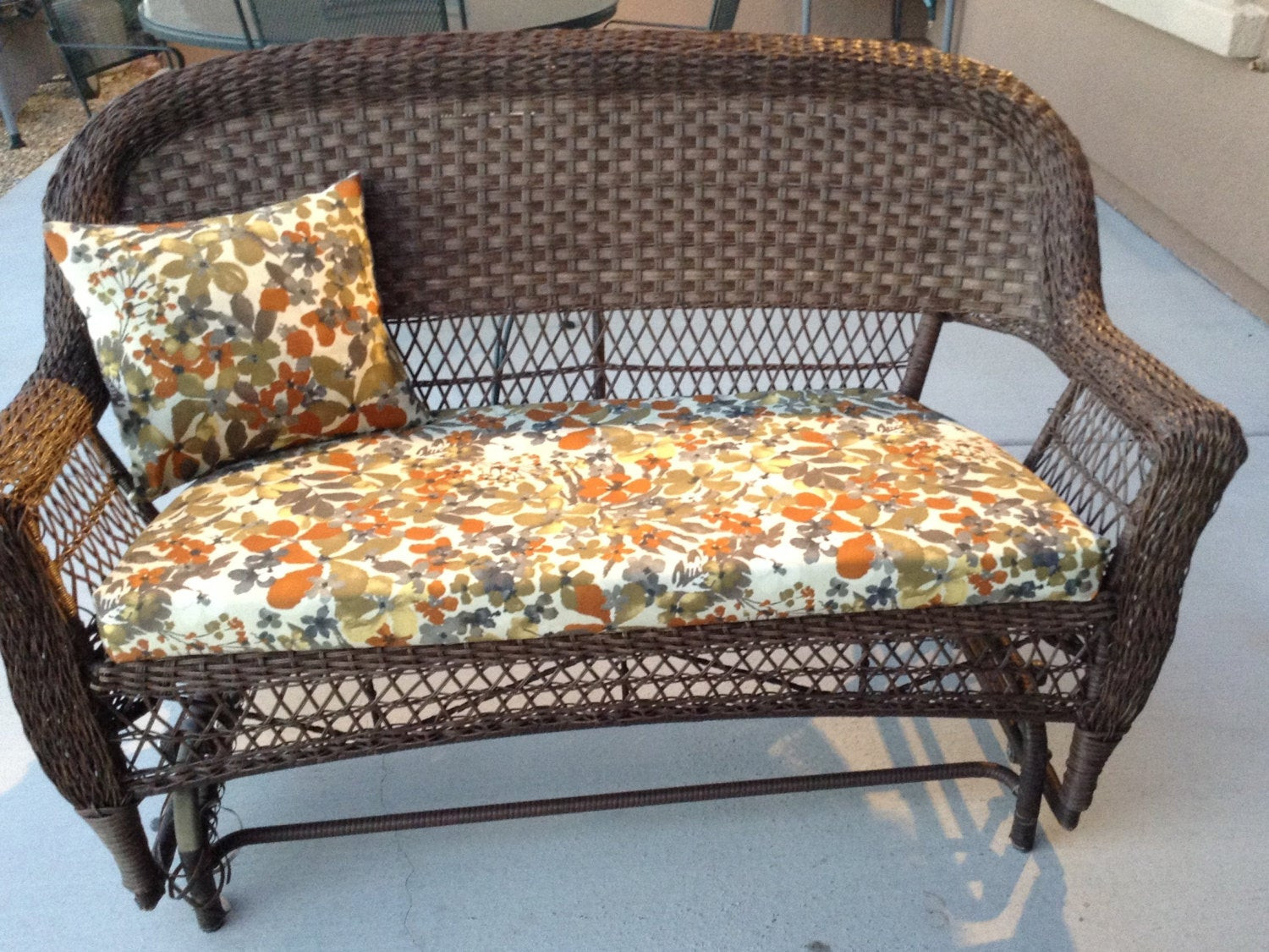 Best ideas about Patio Furniture Cushion Covers . Save or Pin Outdoor patio furniture cushion covers by BrittaLeighDesigns Now.