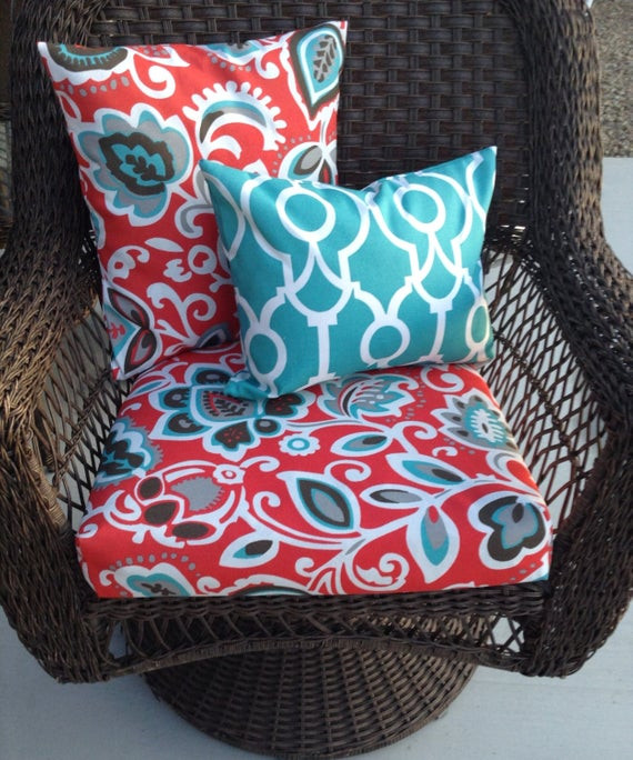 Best ideas about Patio Furniture Cushion Covers . Save or Pin Coastal Colors Outdoor patio furniture cushion covers outdoor Now.