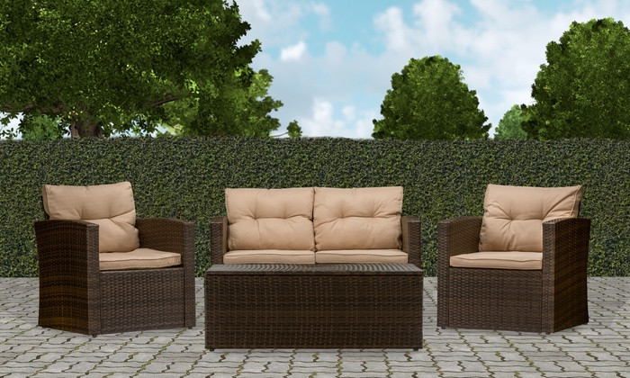 Best ideas about Patio Furniture Deals . Save or Pin Imperia Outdoor Patio Furniture Set 4 Piece Now.