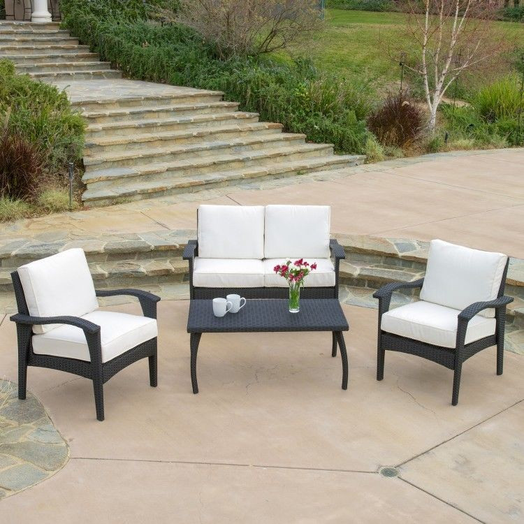 Best ideas about Patio Furniture Deals . Save or Pin Outdoor Patio Furniture Deals Aruba 4 Pieces Wicker Set Now.