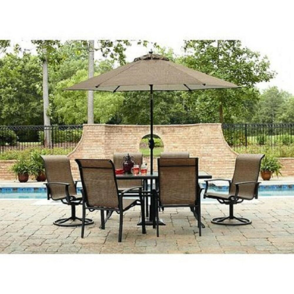 Best ideas about Patio Furniture Sets . Save or Pin 7 pc Outdoor Patio Dining Set Table Chairs Seat Lawn Pool Now.