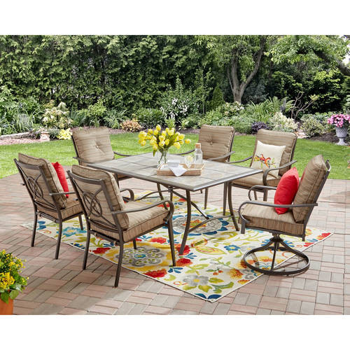 Best ideas about Patio Furniture Walmart . Save or Pin Mainstays Charleston Park Patio Furniture Collection Now.