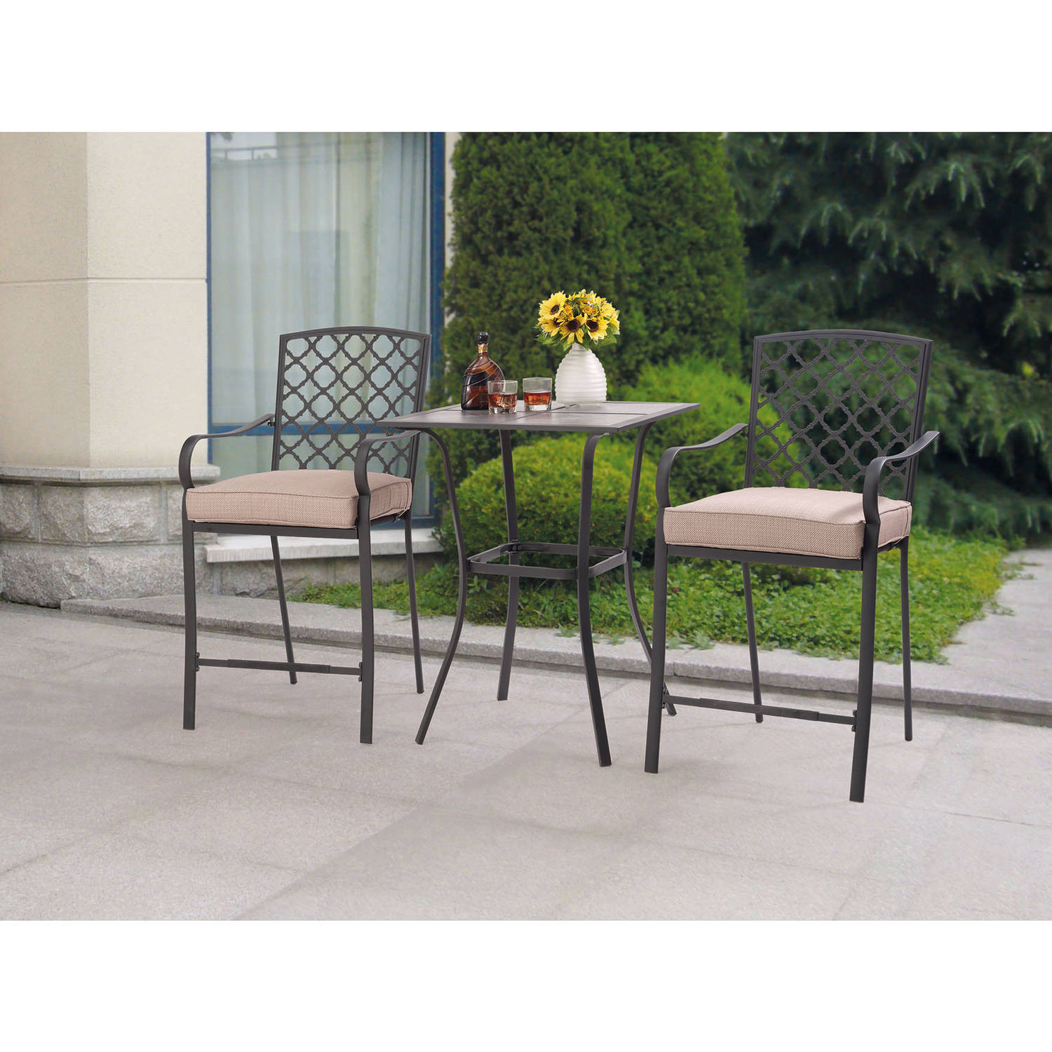 Best ideas about Patio Furniture Walmart . Save or Pin Best Choice Products Cast Aluminum Patio Bistro Furniture Now.