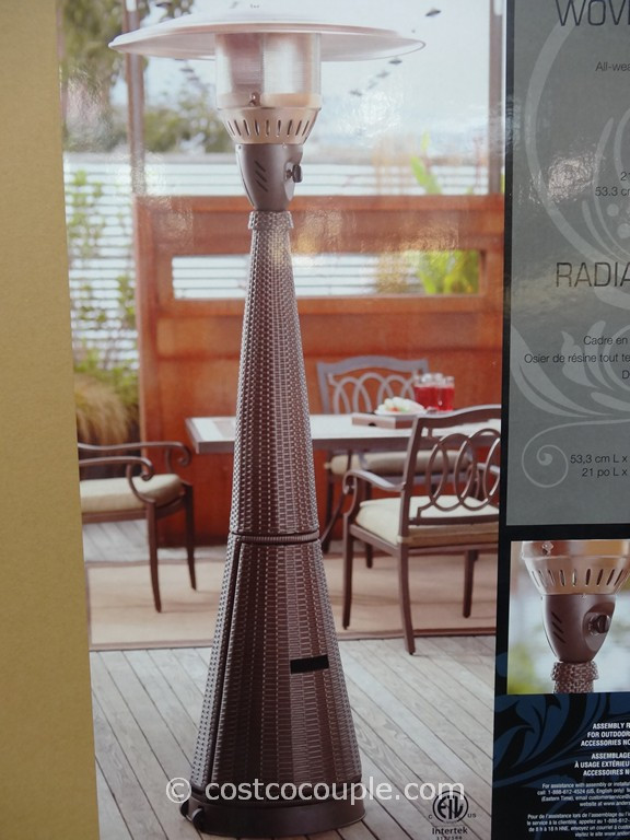 Best ideas about Patio Heater Costco . Save or Pin Woven Wicker Outdoor LP Patio Heater Now.