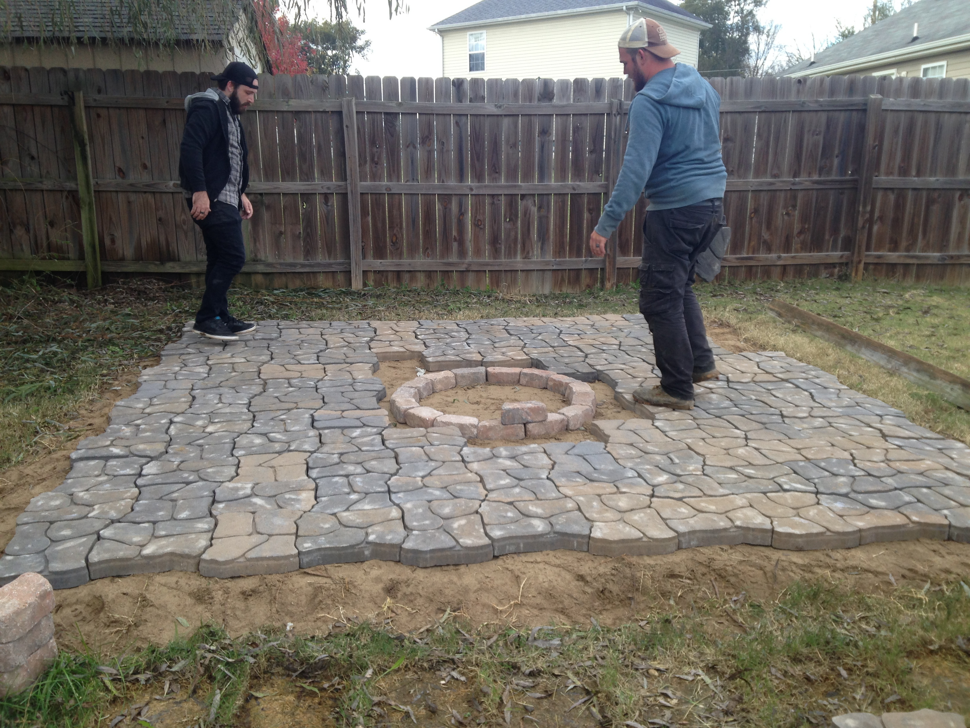 Best ideas about Patio Pavers Lowes . Save or Pin Garden Interesting Pavers Lowes For Cozy Garden Walkway Now.