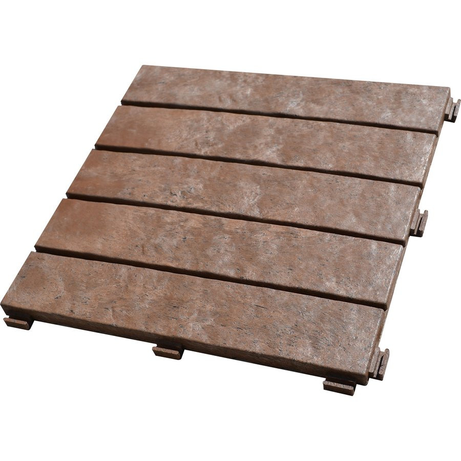 Best ideas about Patio Pavers Lowes . Save or Pin Leadvision 12 in x 12 in Rubber Brickface Paver Now.