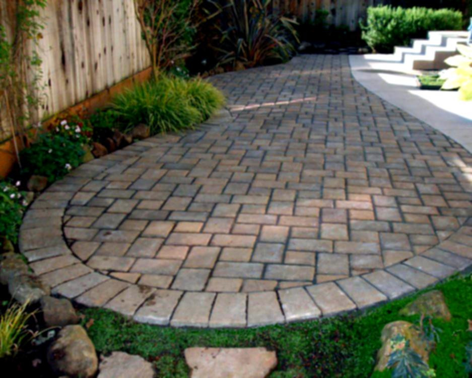 Best ideas about Patio Pavers Lowes . Save or Pin Cool Design Outdoor Landscaping Ideas Concrete Paver Molds Now.