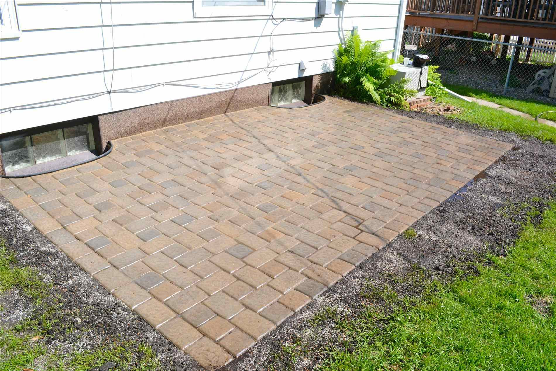Best ideas about Patio Pavers Lowes . Save or Pin 24x24 Concrete Pavers Lowes Home Depot Patio Blocks Now.