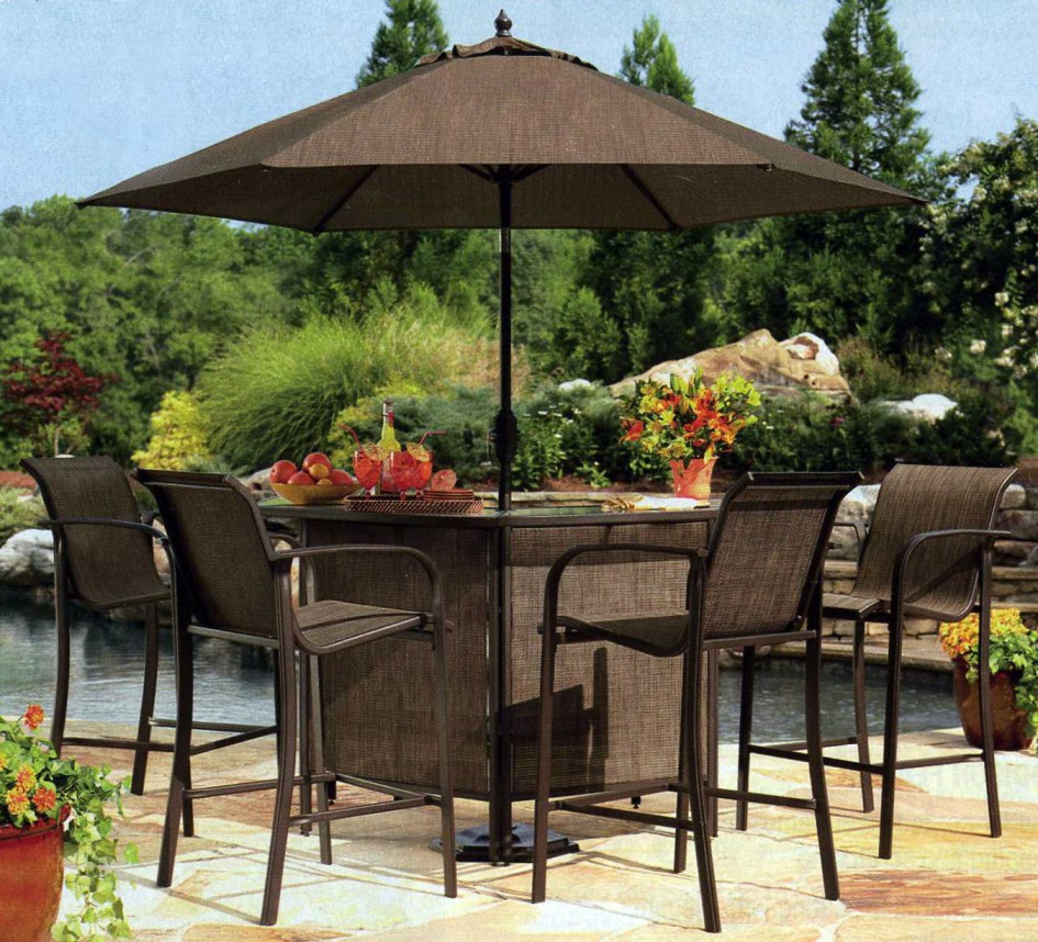 Best ideas about Patio Set With Umbrella . Save or Pin Choosing the Best Outdoor Patio Set with Umbrella for Your Now.