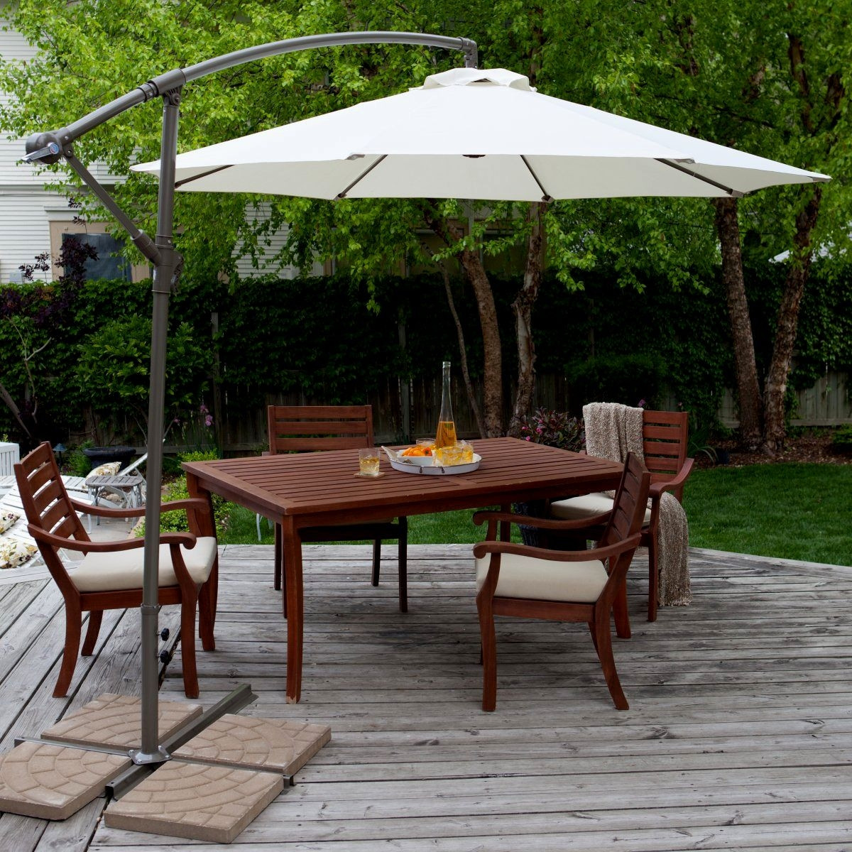 Best ideas about Patio Set With Umbrella . Save or Pin Patio Dining Sets With Umbrella Home Citizen Now.