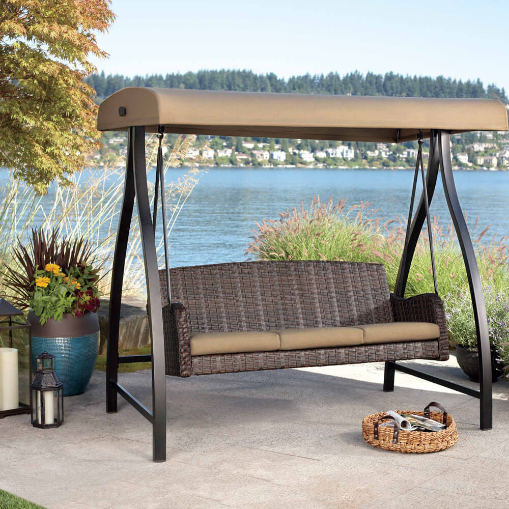 Best ideas about Patio Swing With Canopy . Save or Pin Best Porch Swing Reviews & Guide Now.