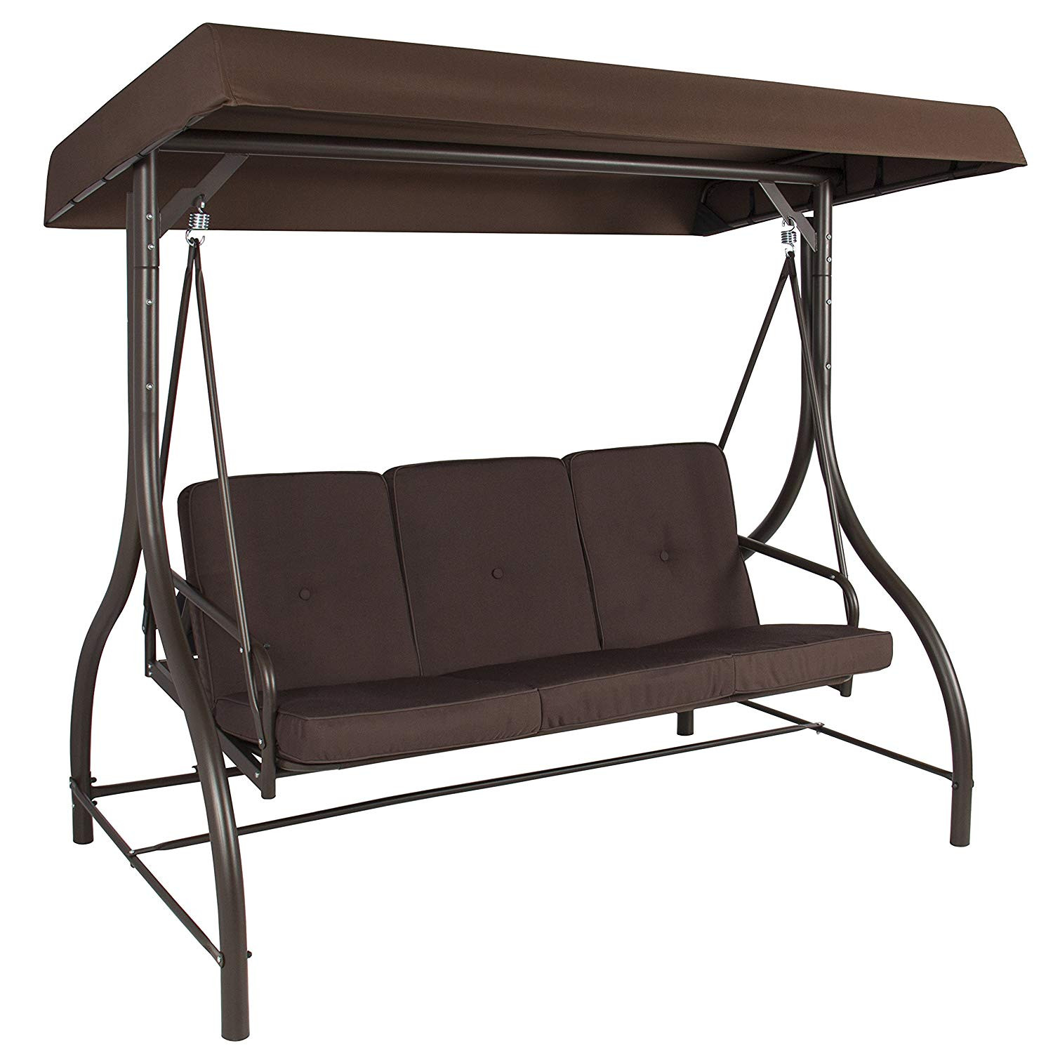 Best ideas about Patio Swing With Canopy . Save or Pin Outdoor Swing Canopy Garden Yard Bench Porch Glider Now.