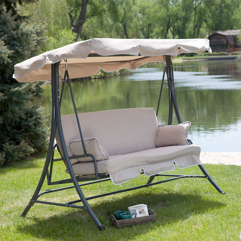 Best ideas about Patio Swing With Canopy . Save or Pin Replacement Canopy for Swing Garden Winds Now.