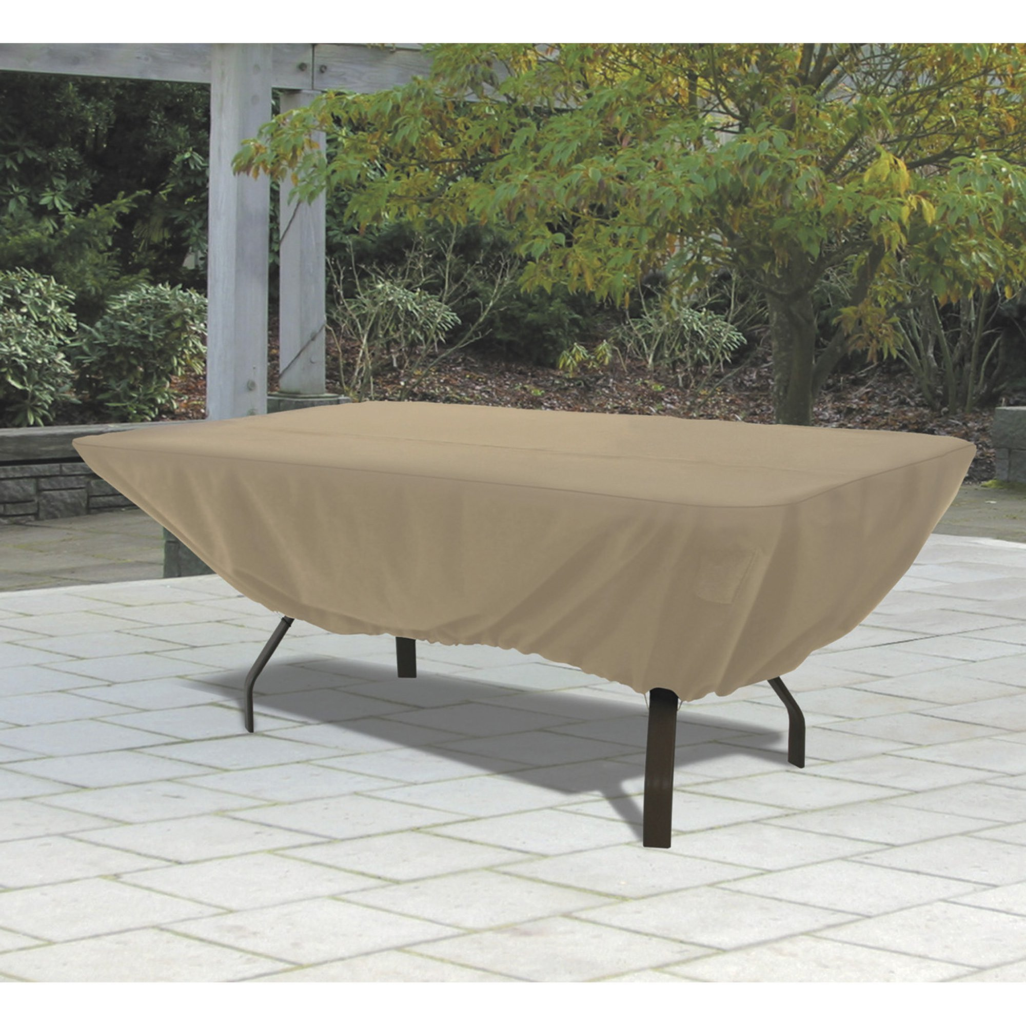 Best ideas about Patio Table Cover . Save or Pin Classic Accessories Terrazzo Rectangular Oval Patio Table Now.