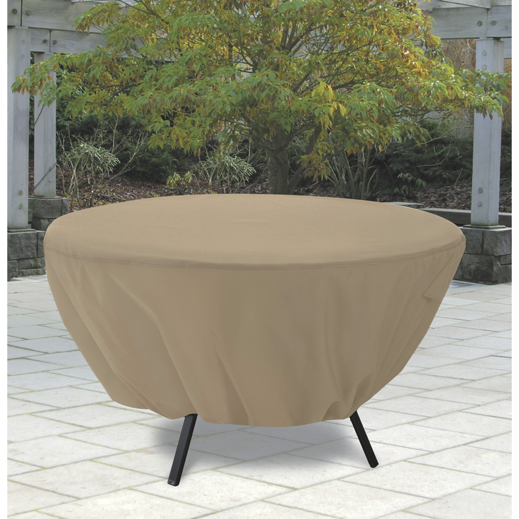 Best ideas about Patio Table Cover . Save or Pin Round Patio Table Cover — Fits Up to 50in Dia Now.