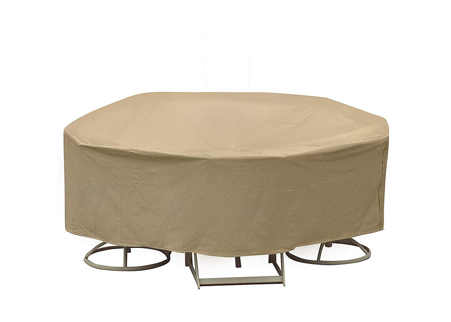 """Best ideas about Patio Table Cover . Save or Pin Weatherproof 60"""" Patio Table Cover Outdoor Patio Set Cover Now."""