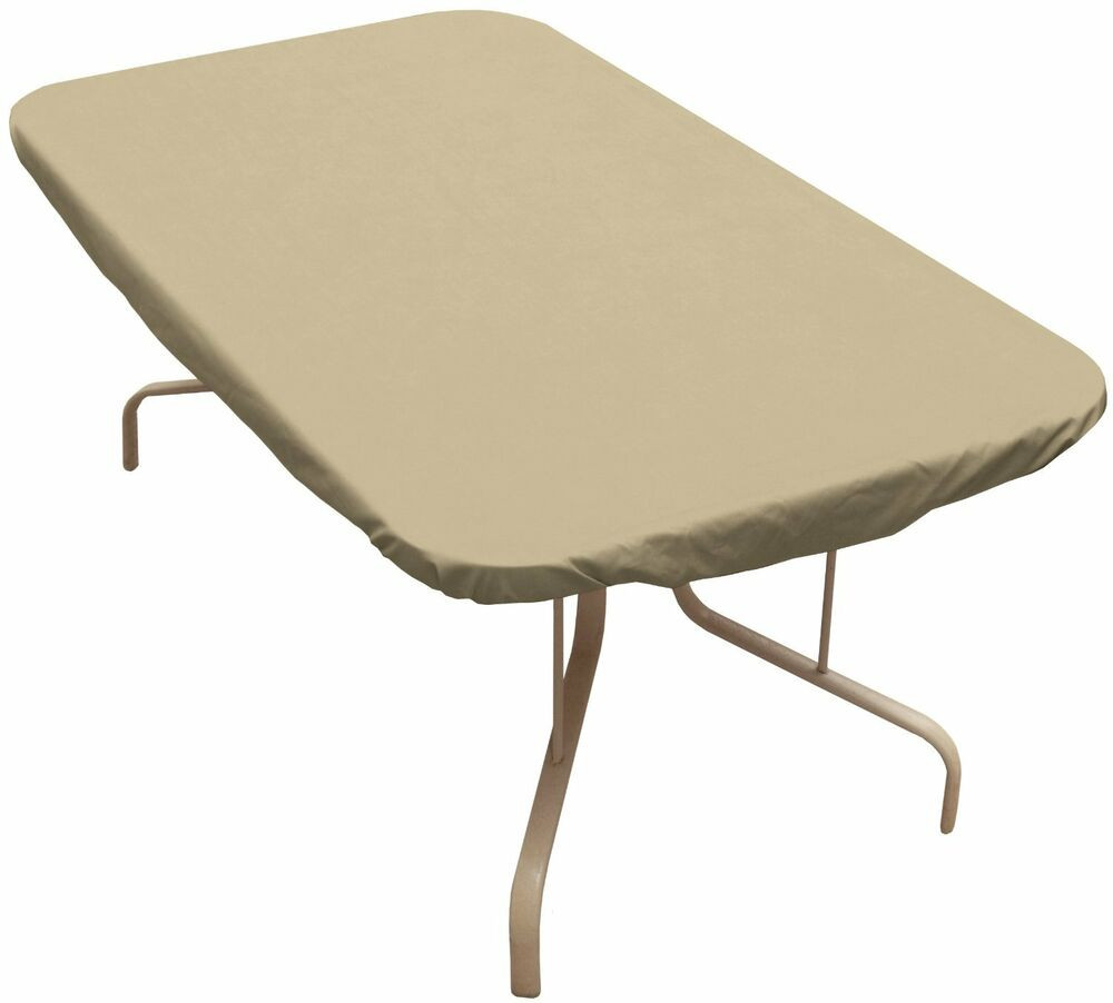Best ideas about Patio Table Cover . Save or Pin Classic Rectangular Table Cover outdoor patio furniture Now.