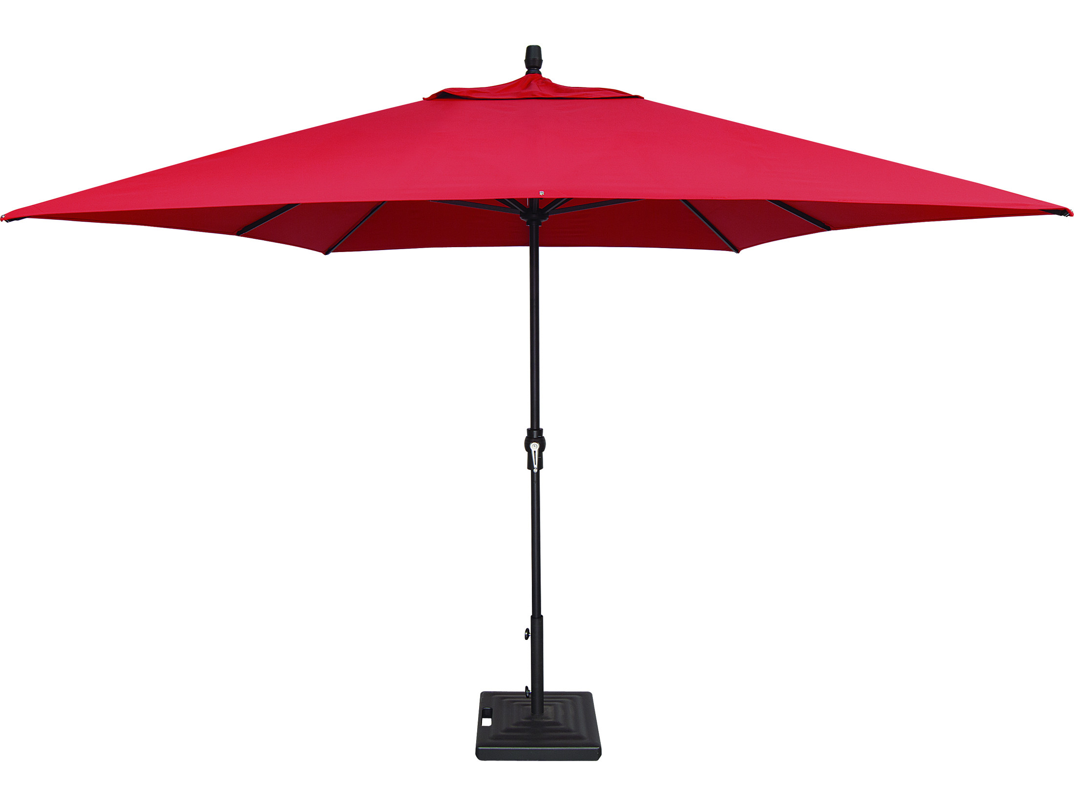 Best ideas about Patio Umbrella Walmart . Save or Pin Treasure Garden Market Aluminum 8 x 11 Crank Lift Now.