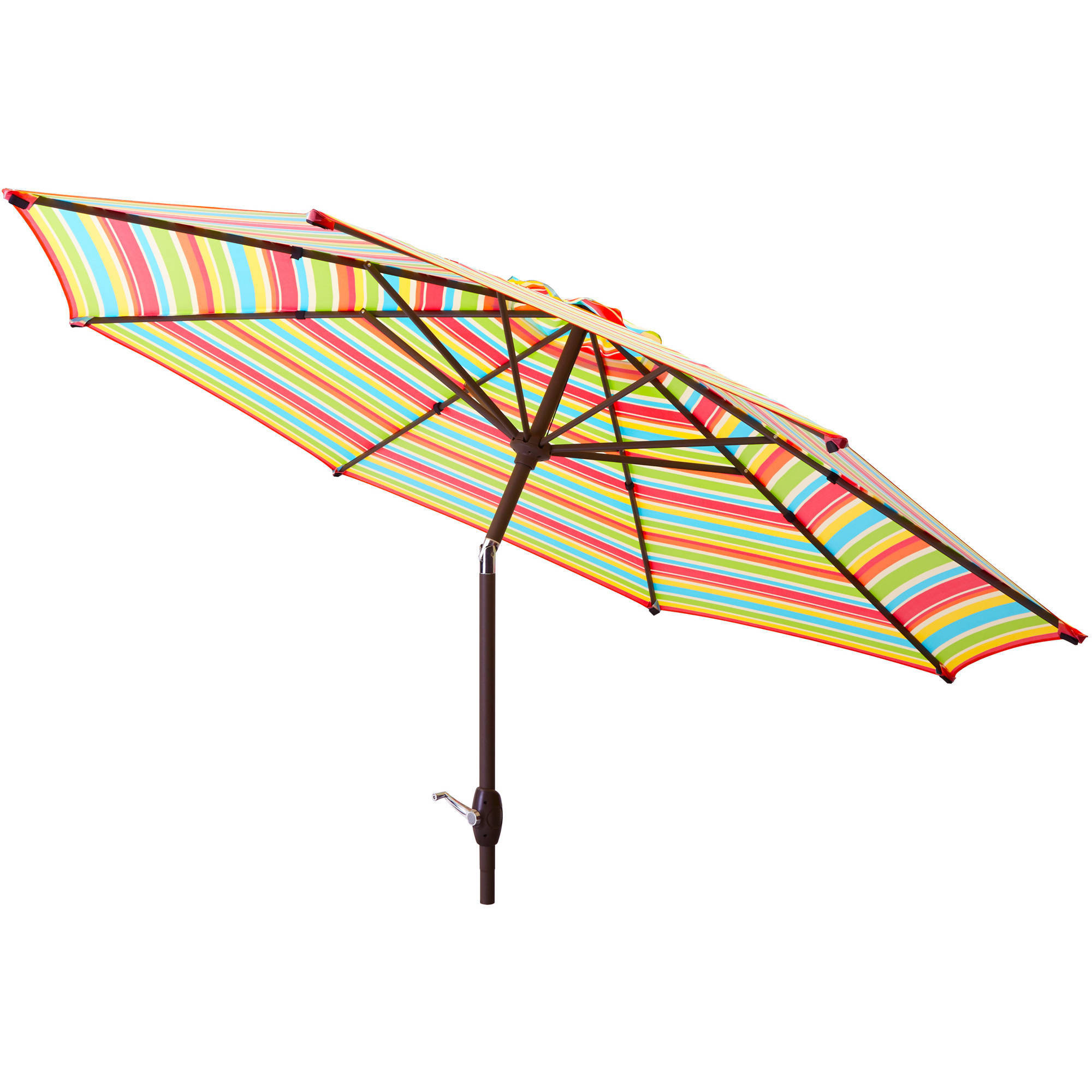 Best ideas about Patio Umbrella Walmart . Save or Pin Patio Umbrella 9 Aluminum Patio Market Umbrella Tilt W Now.