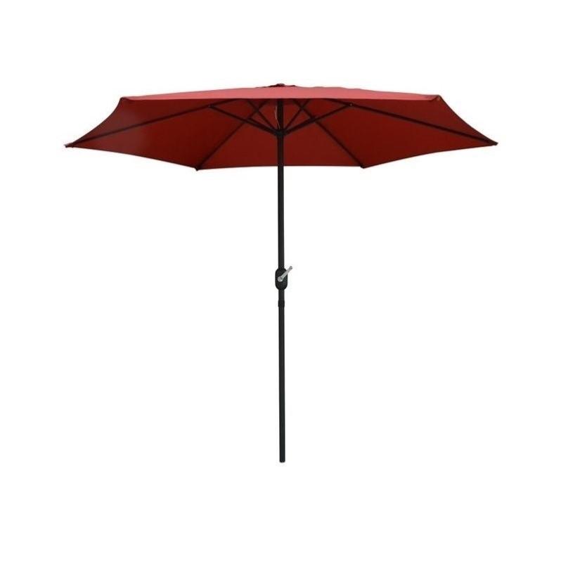 Best ideas about Patio Umbrella Walmart . Save or Pin Pure Garden 9 Aluminum Patio Umbrella with Auto Crank Now.