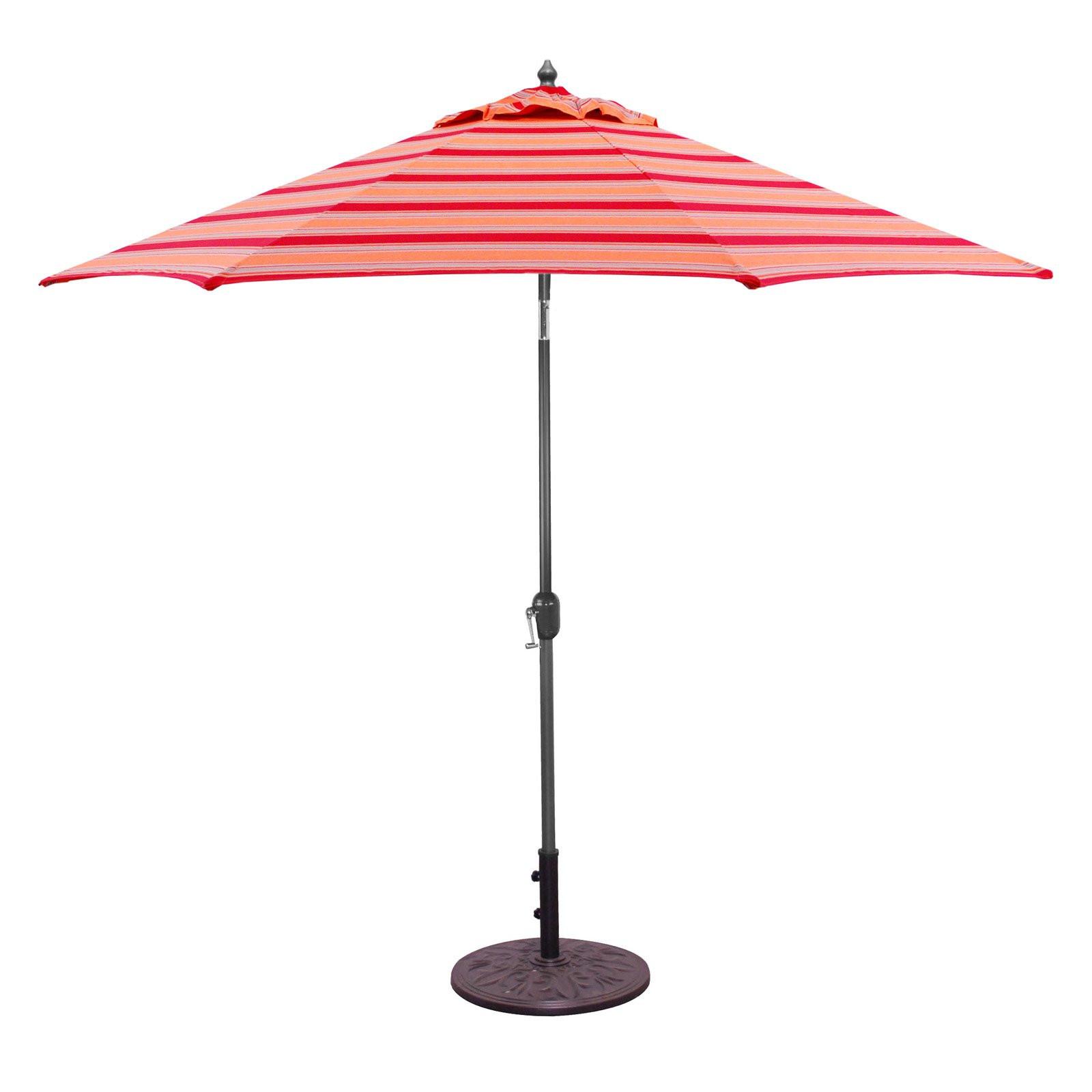Best ideas about Patio Umbrellas Walmart . Save or Pin Galtech 9 ft Sunbrella Aluminum Patio Umbrella Walmart Now.
