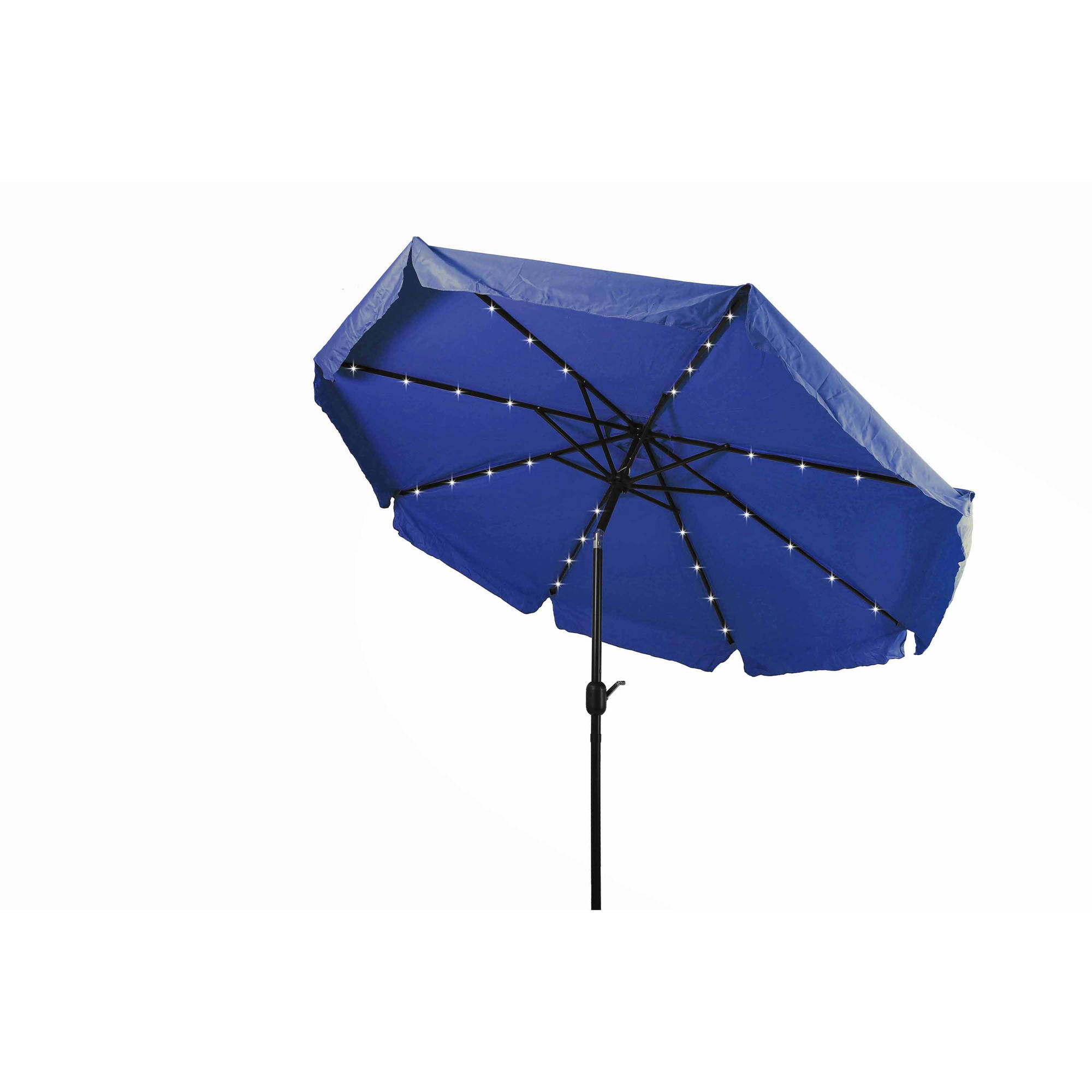Best ideas about Patio Umbrellas Walmart . Save or Pin Deluxe Solar Powered LED Lighted Patio Umbrella 8 by Now.