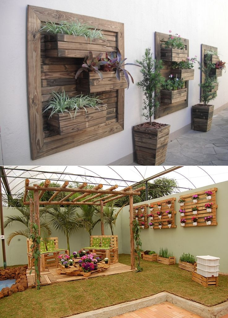 Best ideas about Patio Wall Decor . Save or Pin 17 best ideas about Outdoor Wall Art on Pinterest Now.