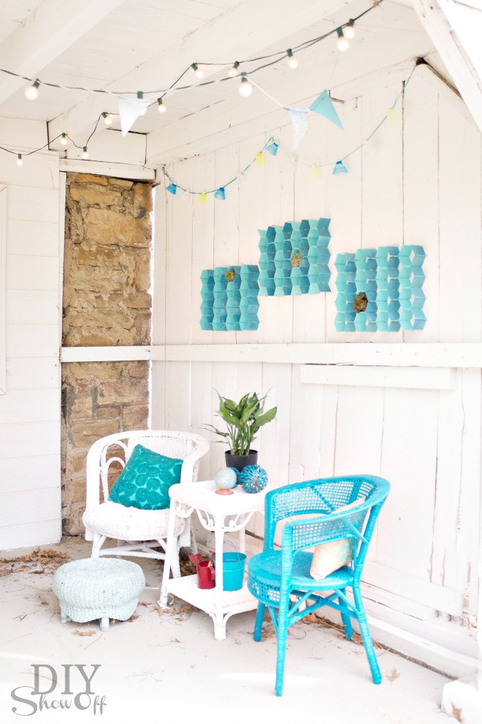 Best ideas about Patio Wall Decor . Save or Pin Patio Accents Archives DIY Show f ™ DIY Decorating Now.