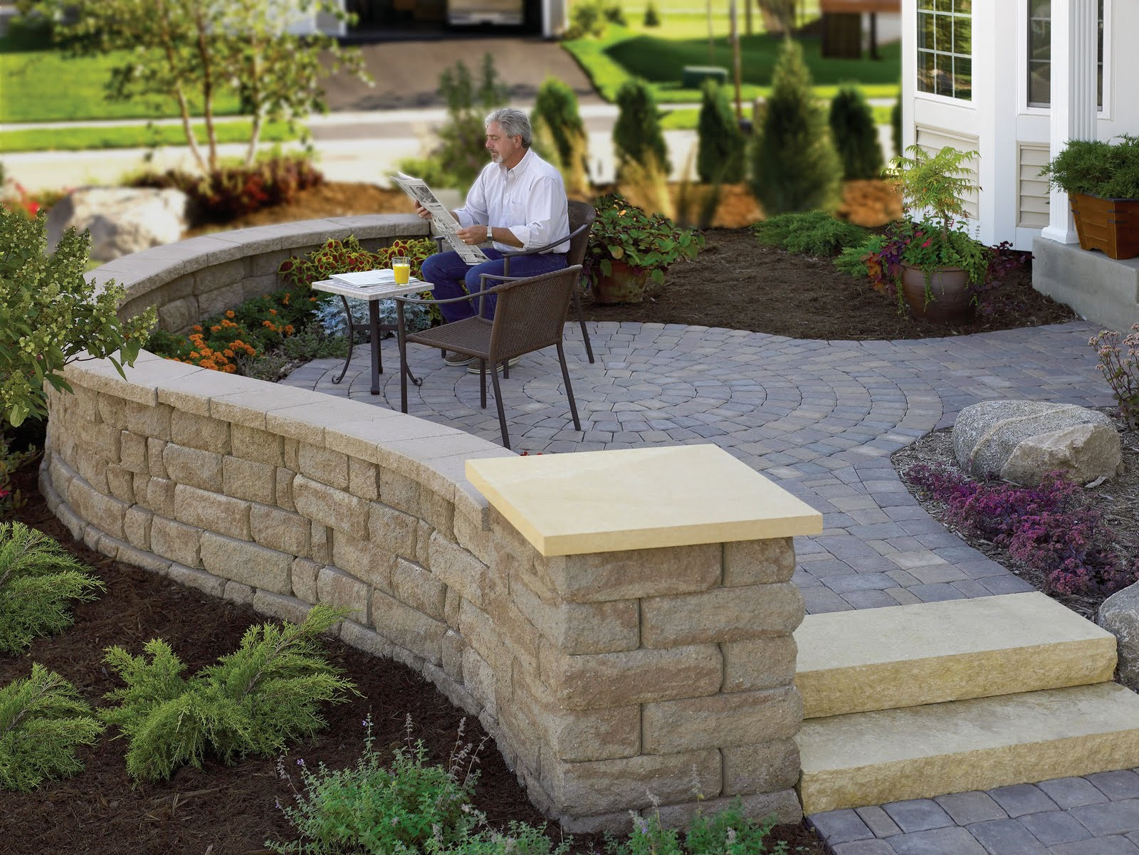 Best ideas about Patio Wall Ideas . Save or Pin Learn for design Home landscaping designs in arizona dancing Now.