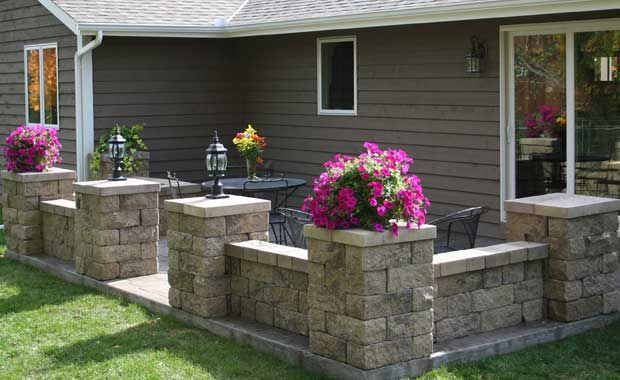 Best ideas about Patio Wall Ideas . Save or Pin retaining wall blocks patio Google Search Now.
