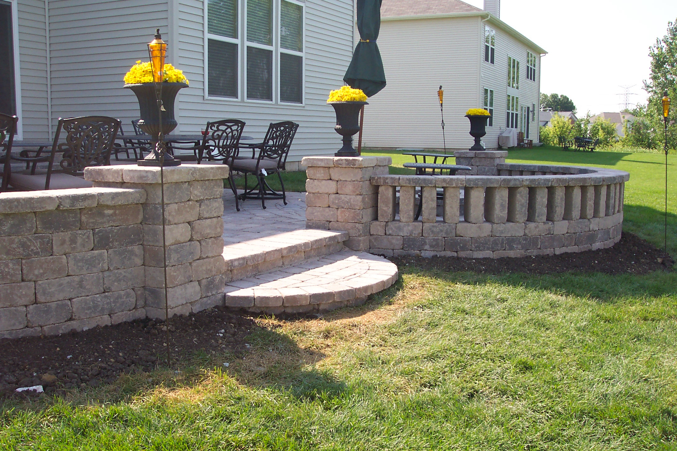 Best ideas about Patio Wall Ideas . Save or Pin Landscapes plete Inc & Ideas Now.