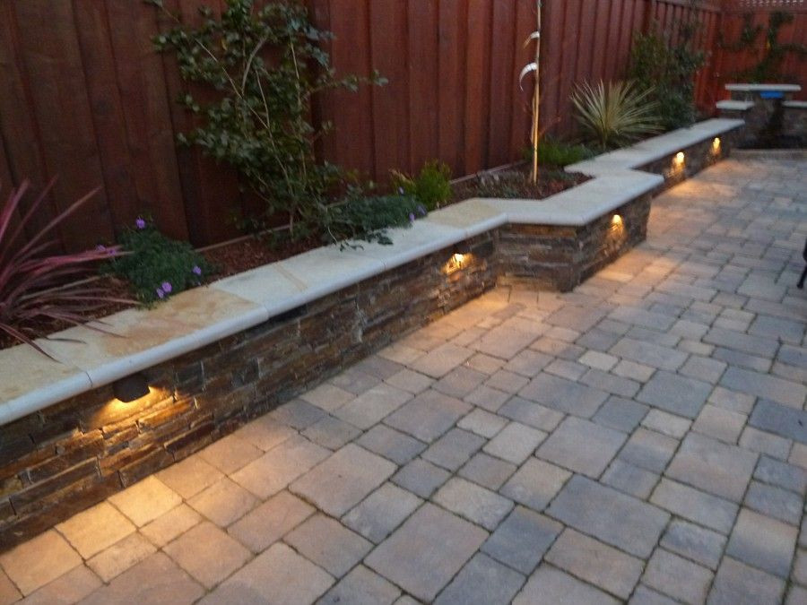 Best ideas about Patio Wall Ideas . Save or Pin sweet walkway patio with wall Backyard Ideas Now.