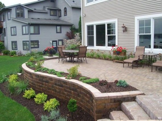 Best ideas about Patio Wall Ideas . Save or Pin 25 best ideas about Raised patio on Pinterest Now.