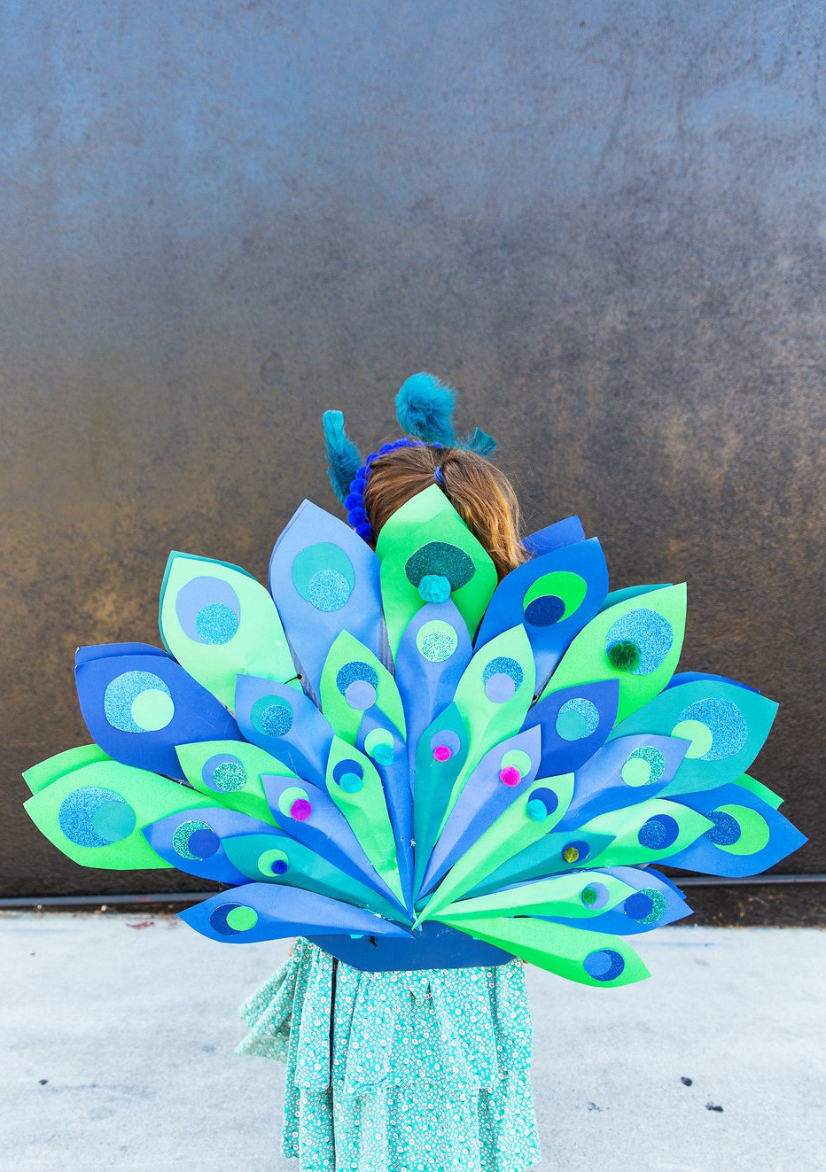 Best ideas about Peacock Costume DIY Kids . Save or Pin DIY Kids Peacock Halloween Costume The Effortless Chic Now.