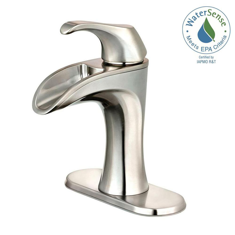 Best ideas about Pfister Bathroom Faucets . Save or Pin Pfister Brea 4 in Centerset Single Handle Bathroom Faucet Now.