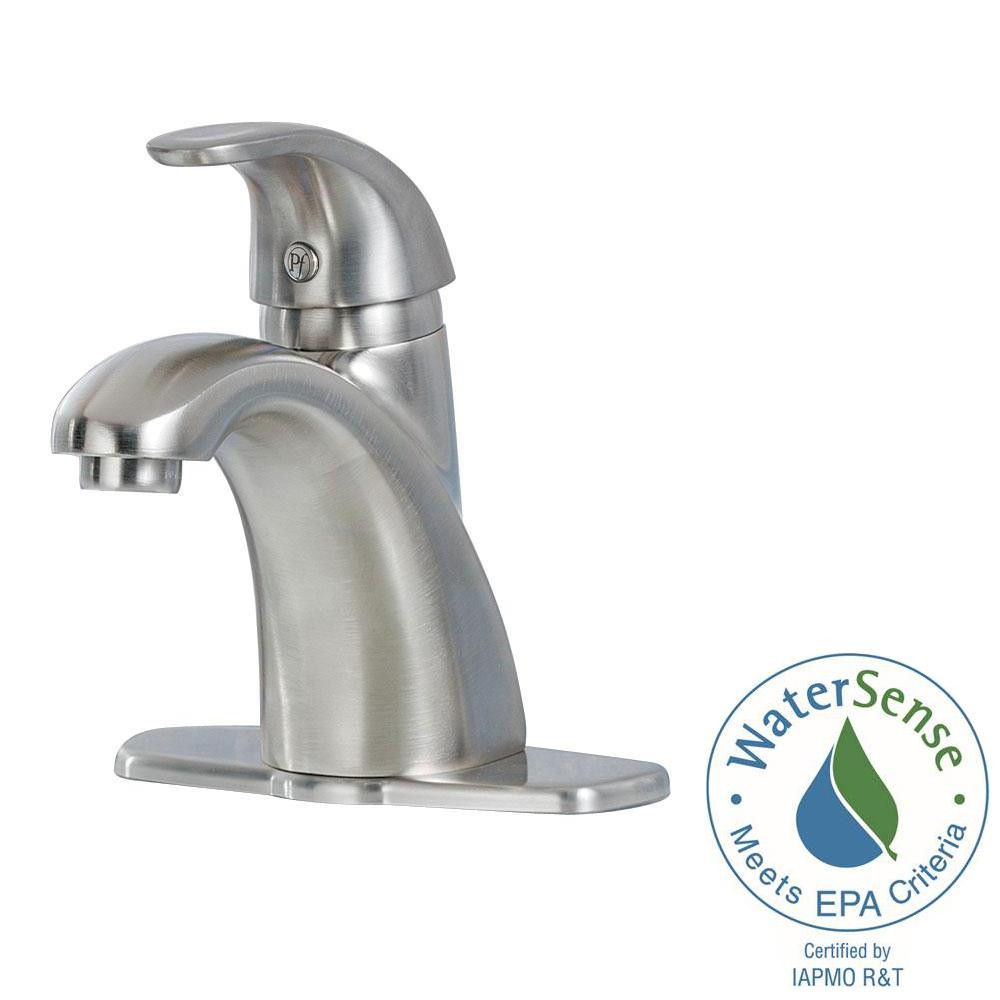 Best ideas about Pfister Bathroom Faucets . Save or Pin Pfister Parisa 4 in Centerset Single Handle Bathroom Now.