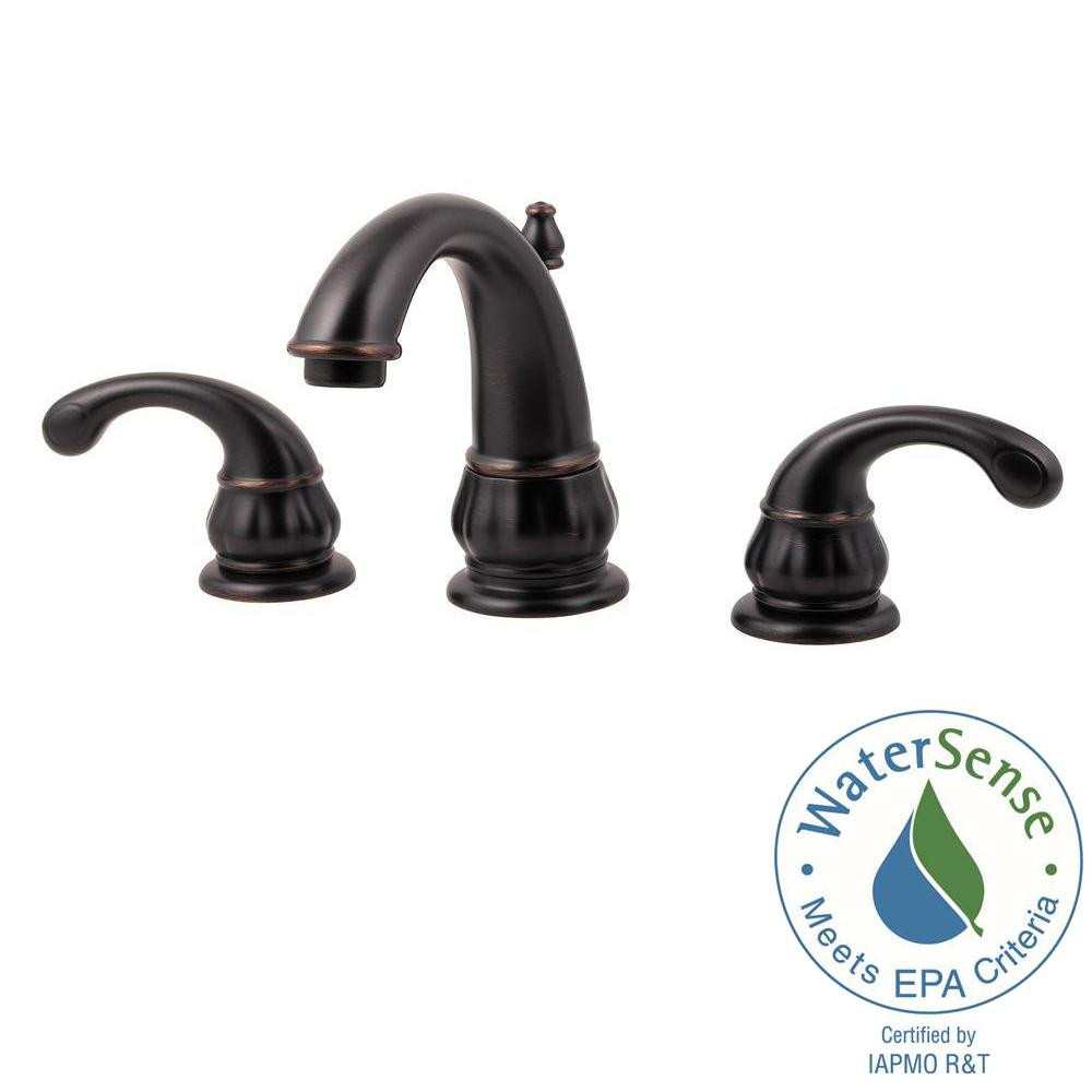 Best ideas about Pfister Bathroom Faucets . Save or Pin Pfister Treviso 8 in Widespread 2 Handle Bathroom Faucet Now.