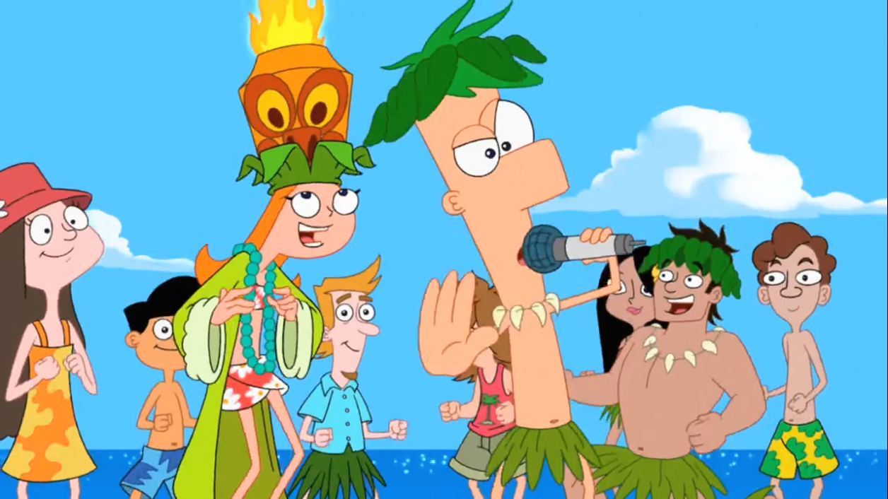 Best ideas about Phineas And Ferb Backyard Beach . Save or Pin Image Ferb singing at the beach JPG Phineas and Ferb Now.
