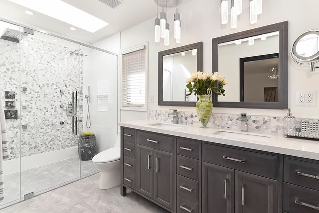 Best ideas about Pictures For Bathroom . Save or Pin Redesigned Bathroom Contemporary Bathroom Calgary Now.