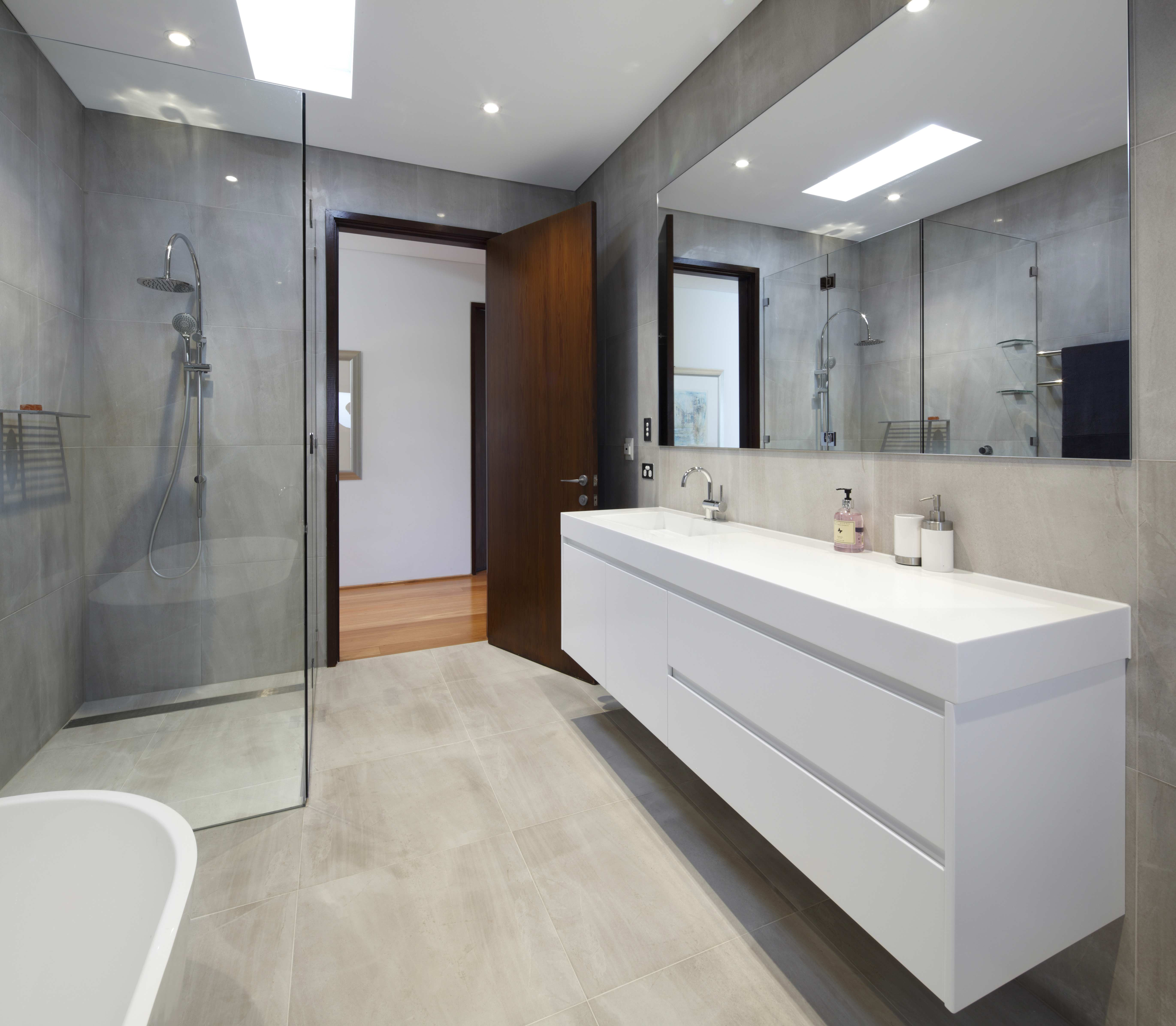 Best ideas about Pictures For Bathroom . Save or Pin Small Bathroom Renovations Designs Sydney Designer Now.