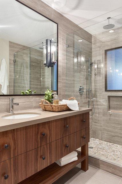 Best ideas about Pictures For Bathroom . Save or Pin Modern Chalet North Vancouver Design & Renovation Now.