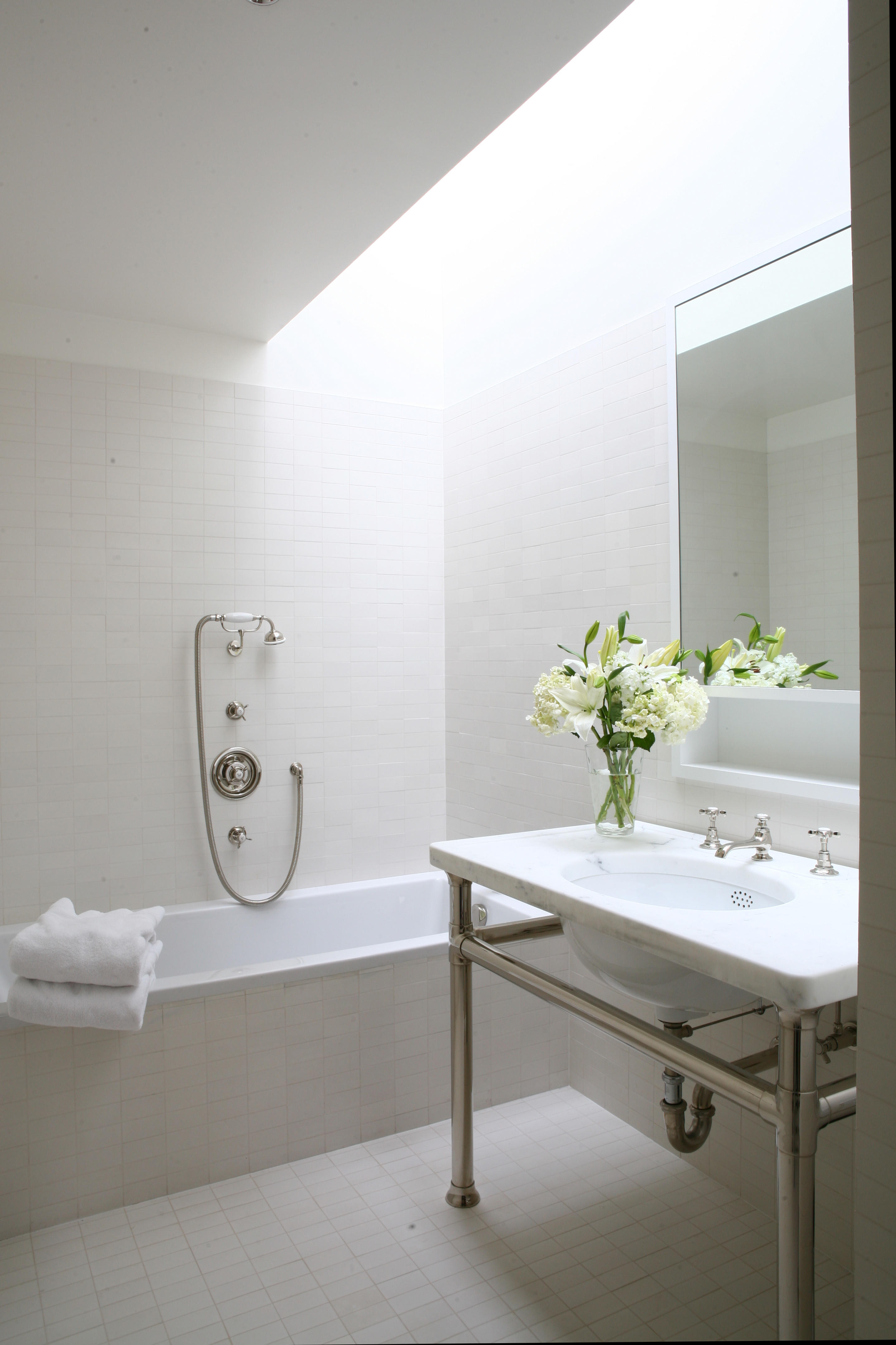 Best ideas about Pictures For Bathroom . Save or Pin Skylight Bathroom Now.